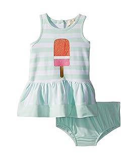 Ice Pop Stripe Dress (Infant)