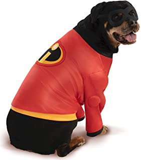 Rubie's Disney: Incredibles 2 Pet Costume Shirt and Mask, XXX-Large