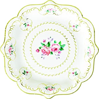 Talking Tables Truly Chintz, Paper Plates, 22cm (8 pack in 1 design)