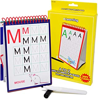 Esposti Children's A to Z Learn to Write Flip Book - Childrens Learning