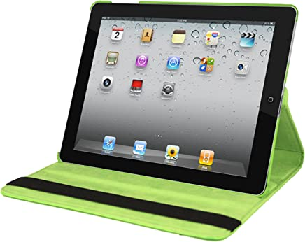 Natico Faux Leather Case for iPad 2/3/4 - Green (60-I360-GN)
