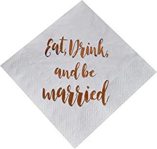 eat drink be married invitations