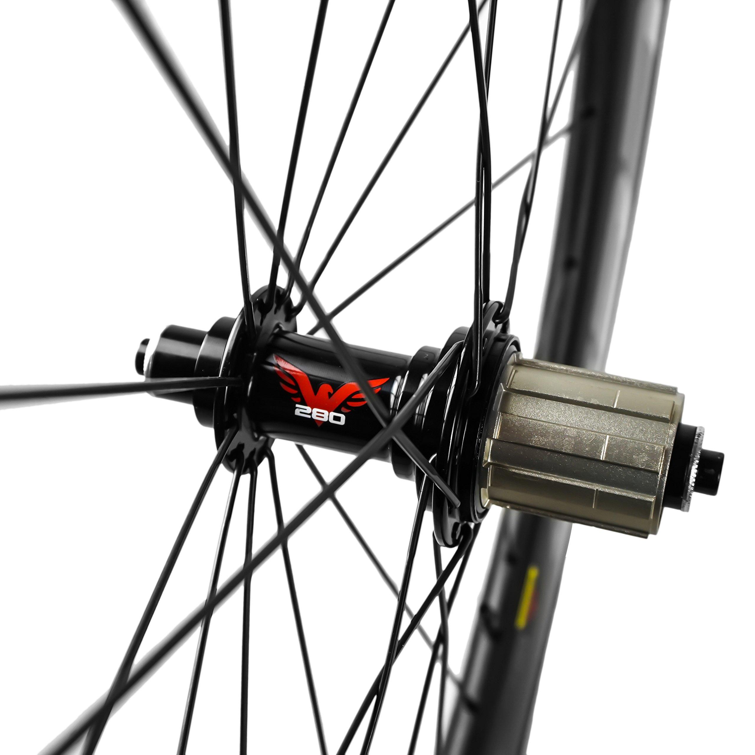 Eagle T Series - Bicicleta de triatlón de Fibra de Carbono, Ruedas ...