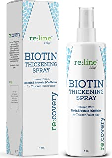 اسپری ضخیم کننده مو Biotin برای اسپری نازک مو جلوگیری از ریزش مو جلوگیری از ضخیم شدن مو برای تقویت محصولات ضخیم مو برای مردان مناسب برای خانم ها