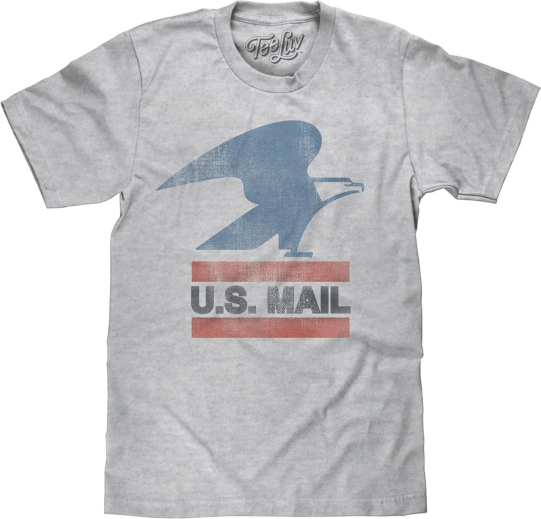 Tee Luv USPS Max 89% OFF U.S. Mail Eagle Logo S Shirt States Postal United - New product