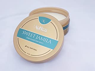 Xotics by Curtis Smith Sweet Jamila Hair & Body Shea Glaze – 4 oz   Professionally Formulated Shea Butter & Essential Oil Fusion   Nourish, Protect & Support Healthy Hair and Skin