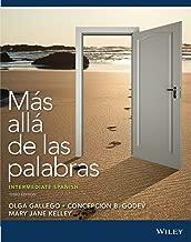 Más allá de las palabras: Intermediate Spanish, Third Edition