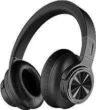 هدفون Falwedi Active Noise Lancelling هدفون APT-X CVC8.0 48H Music Playtime هدفون بی سیم بلوتوث با میکروفن Type-c شارژ سریع باس عمیق باس عمیق بیش از گوش برای سفر / کار ، سیاه