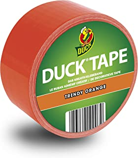 Ducktape 100-07 Ruban Adhésif, 48 mm x 10 m, à Bricoler et Embellir, Orange