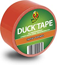 Duck Tape Colour Orange - Deco plakband voor knutselen en decoreren 48mm x 10m