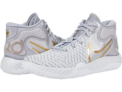 Nike KD Trey 5 VIII (Pure Platinum/Metallic Gold) Shoes