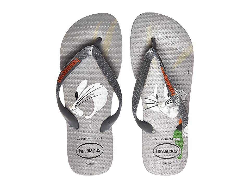 Havaianas Looney Tunes Flip-Flops (Ice Grey) Men