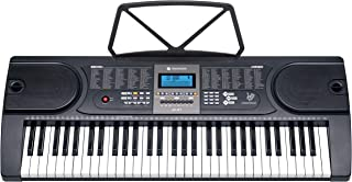 Joymusic Joy 61-Key Electronic Keyboard for Beginners,LCD Sc