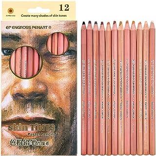 comprar comparacion Lápices de Colores Pastel Suaves Profesionales de 12 Piezas Piel de Madera Tinte Lápiz de Color Pastel
