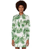 Sportmax - Udito Cotton Printed Shirtdress