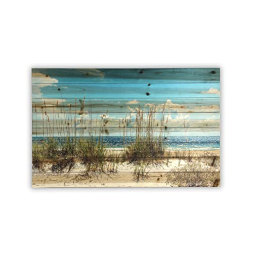 7f48c3e4bd5 Gallery 57 Sand Dunes Print on Planked Wood