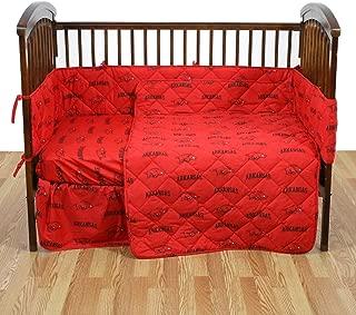 arkansas razorback crib bedding sets
