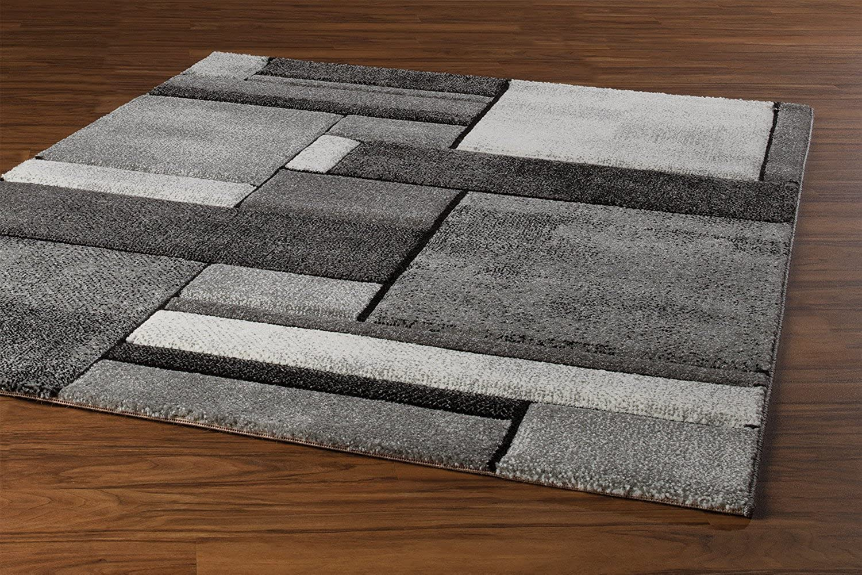 Teppich BRILLIANCE 43, 43, 43, Grau, 80x150 cm B01MTJYRAV d4903f