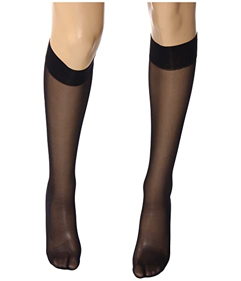 1b72bc5af79 Wolford Satin Touch 20 Knee-Highs at Zappos.com