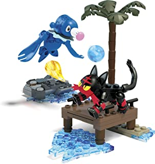 Mega Construx Pokemon Litten vs. Popplio