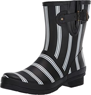 Chooka Smart Stripes Mid Boot Black 8