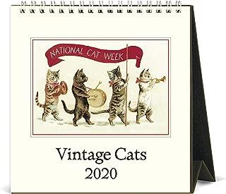 2020 Vintage Cats Desk Calendar
