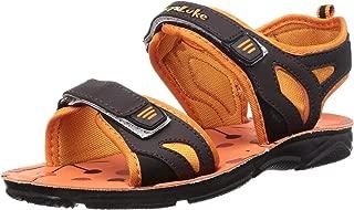 Lucy & Luke by Liberty Boy's Darrell-1 Orange Outdoor Sandals-12 UK (31 EU) (13 Kids US) (2156027122)