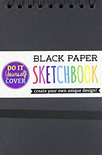 OOLY, DIY Cover Sketchbook - Small Black Paper 5