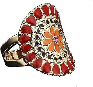 Sansar India Ring for Women (Multi-Colour) (600A)