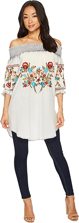 Scully - Augustine Embroidered Tunic