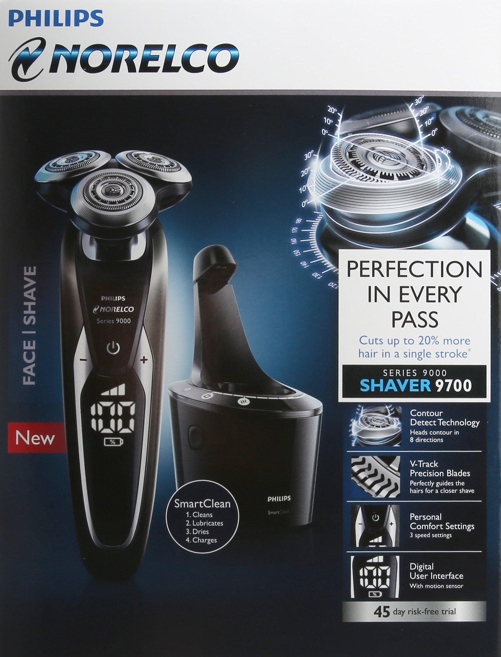 Philips Norelco Shaver 9700 S9721/84 - Afeitadora (Máquina de ...