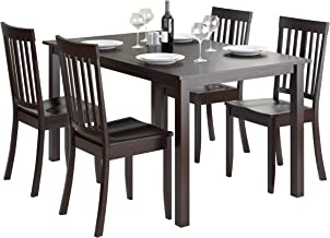 CorLiving Atwood Dining Set, Cappuccino