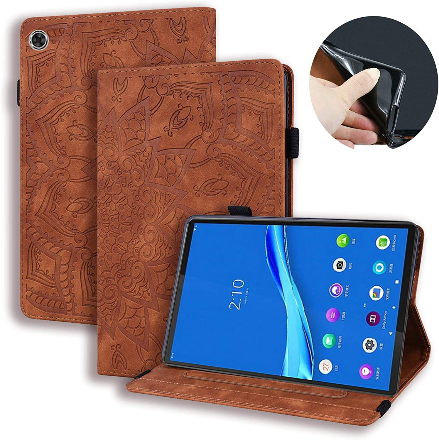 USTY Department store Case for Lenovo Tab M10 Plus Slim - Flower 10.3 Stand Folio Louisville-Jefferson County Mall
