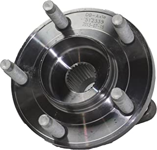 Detroit Axle - AWD REAR Wheel Bearing & Hub Assembly Driver or Passenger Side fits AWD Only - 2007-2010 Ford Edge AWD - [2007-2010 Lincoln MKX AWD]