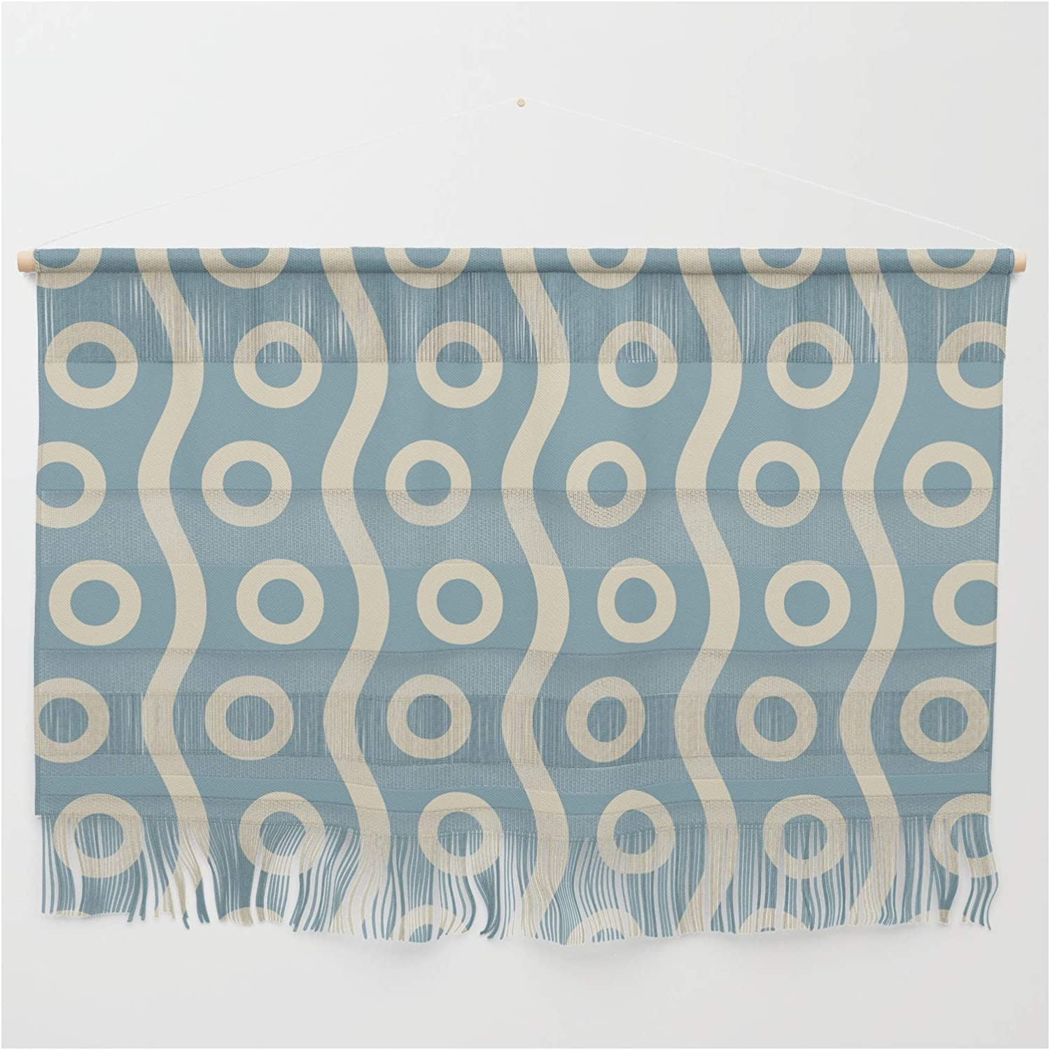 Society6 Mid Century Modern Rising Colorado SALENEW very popular! Springs Mall Bubbles Pattern Blue 2 Cr and