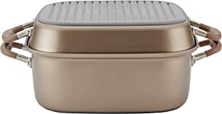 Anolon 83869 Advanced Hard Anodized Nonstick Grill Pan / Griddle and Roaster - 11 Inch, Brown