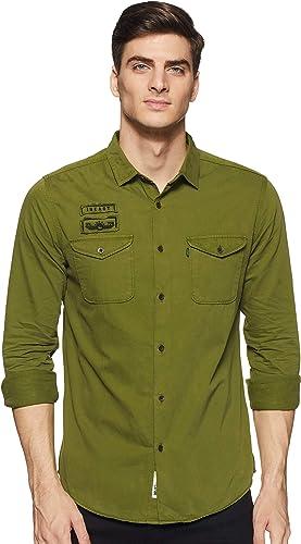 Men S Slim Fit Casual Shirts