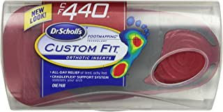 Dr. Scholl's Custom Fit Orthotic Inserts, CF 440, Red