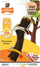 Nylabone Real Wood Stick Strong Dog Stick Chew Toy