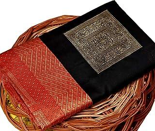 Applix Style Women Banarasi Silk Saree With Blouse Piece