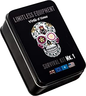 Limitless equipment Mark 1 kit de supervivencia: Mil-Spec,