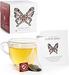 Sponsored Ad - Whidbey - Jasmine Green Tea Bags - Premium Certified Organic. Low Caffeine, Artisan Antioxidant Floral Herb...