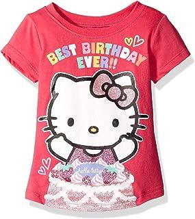 Hello Kitty Girls' Happy Birthday T-Shirt