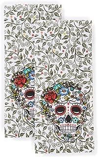 Fiesta Skull & Vine Kitchen Towel Set, 16