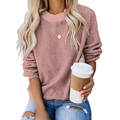 Save 55% Dressation Womens Casual Fuzzy Sweater