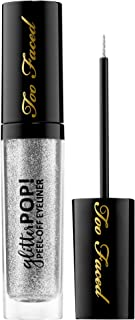 TOO FACED Glitter POP! Peel-Off Eyeliner - Super Fun Night - pure silver glitter