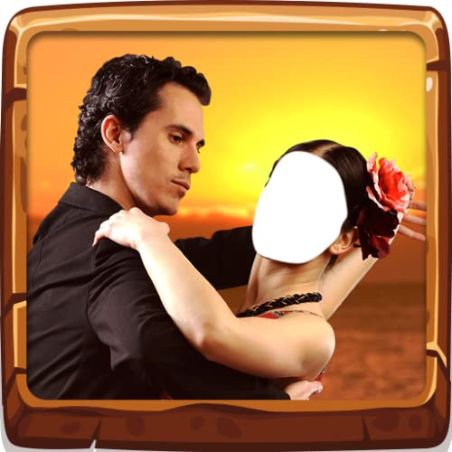 Couple de danse latine Montage