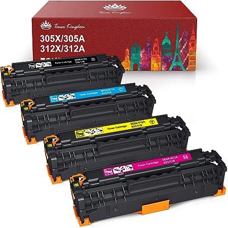 Contains SCS Compatible LJ Pro 300 Color M351 M451 MFP M375 M475 Cyan Toner OEM# CE411A 2600 Yield MSE 02-21-41114 Compatible Toner