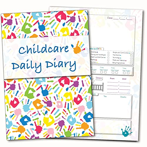 childcare daily diary eyfs links daily log record diary childminders early years
