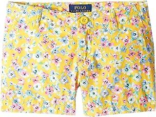 [Polo Ralph Lauren(ポロラルフローレン)] キッズショーツ?短パン Floral Poplin Shorts (Little Kids) [並行輸入品]